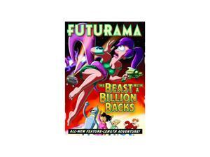 Futurama: The Beast With a Billion Backs Billy West (voice), John DiMaggio (voice), David Cross (voice), Brittany Murphy (voice), Dan Castellaneta (voice), Stephen Hawking (voice), Maurice LaMarche (v