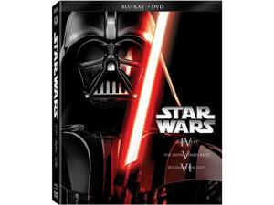 Star Wars Trilogy Episodes IV-VI (Blu-ray + DVD) Harrison Ford
