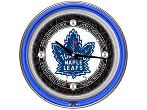 NHL Vintage Toronto Maple Leafs Neon Clock - 14 in Diameter