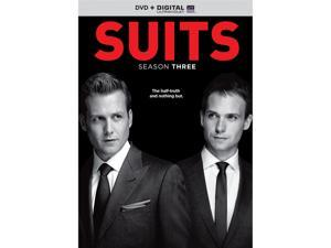 Suits: Season Three (UV Digital Copy + DVD) Gabriel Macht, Patrick J. Adams, Rick Hoffman, Sarah Rafferty, Gina Torres