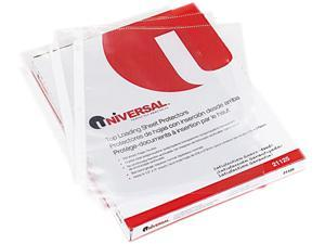 Universal 21125 Top-Load Poly Sheet Protectors  Standard  Letter  Clear  100/box