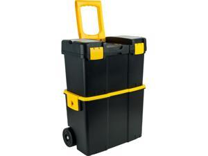 Trademark ToolsT Stackable Mobile Tool Box with Wheels