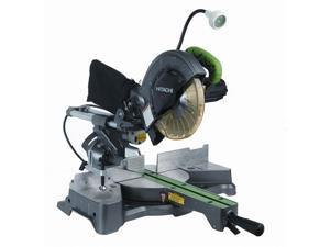 "Hitachi Power Tools C8FSHE 8-1/2"" Sliding Compound Miter Saw With Laser Marker"