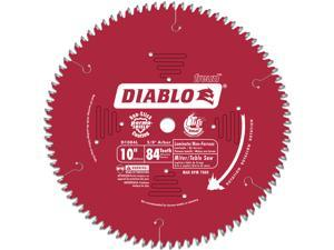 "Freud D1084L 10"" 84T Diablo® Laminate Chop/Slide Miter and Table Saw Blade"