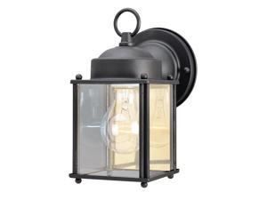 "Westinghouse 66972 4-1/8"" Black Wall Lantern"