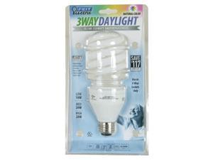Feit Electric BPESL50/150T/D 10, 20 & 28 Watt Daylight Compact Fluorescent 3 Way Light Bulb