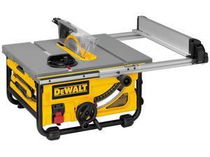 """Dewalt DW745 10"""" 15 Amp Compact Job Site Table Saw"""