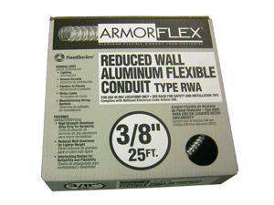 "Southwire 55082021 3/8"" X 25' Armor Flex® Reduced Wall Flexible Aluminum Condui"