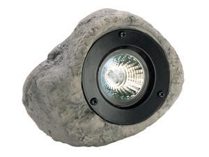 Paradise Contemporary Grey Everest 12V Polyresin 20-Watt Rock Floodlight