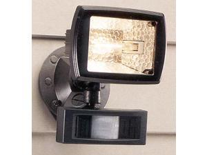 Regent Lighting Bronze 150 Watt Bronze Motion Activated Halogen Quartz Flood Light