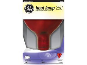 GE Lighting 37771 Red Heat Lamp Light Bulb