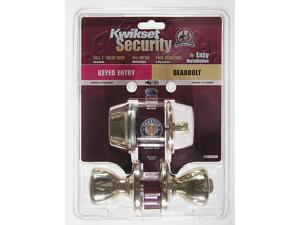 Kwikset 96900-253 Security Entry Combo Pack