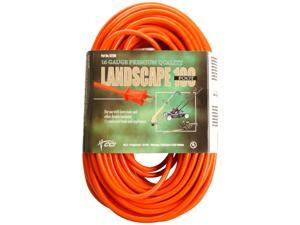 Coleman Cable 02209 100' Vinyl Outdoor Extension Cord