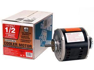 MTR COOLER 1/2HP 1SPD 115V DIAL MFG INC Evaporative Cooler Parts 2203
