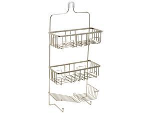 Zenith 7780BN Brushed Nickel Shower Caddy