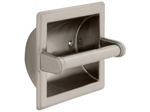 Franklin Brass 9097SN Recessed Toilet Paper Holder With Beveled Edges