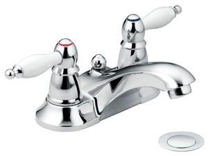 Moen CA84429 Two Handle Low Arc Lavatory Faucet