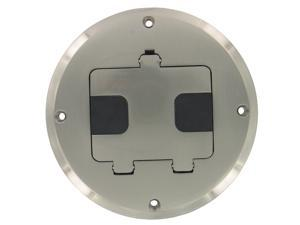 Hubbell Raco 6239ni Nickel Plated Concealed Receptacle