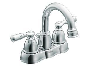 Moen CA84913 Banbury Two Handle Low Arc Lavatory Faucet
