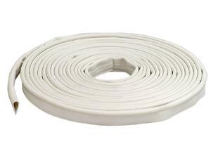 "MD 68676 1/2"" X 20' White Silicone Smoke Door Seal Gasketing"