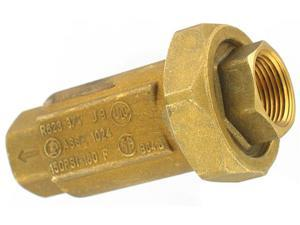 "LDR 020-1274 3/4"" FIP Dual Check Back Flow Preventer Valve"