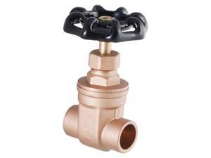 "LDR 022-1215 1"" Sweat Heavy Duty Low Lead Gate Valve"