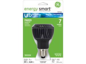 GE Lighting 73716 7 Watt Energy Smart™ PAR20 LED Light Bulb