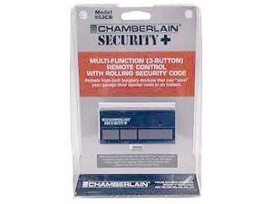 Chamberlain 953CB 3 Button Garage Door Remote Control