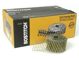 "Bostitch Stanley C8P99DG 2-1/2"" Coil Nails Plain Shank Galvanized"