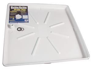 "Camco 20752 30"" X 32"" White Washing Machine Pan"