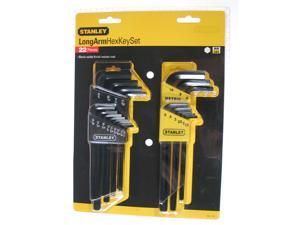 Stanley Hand Tools 85-753 22 Piece Long Arm Hex Key Set
