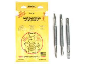 Noxon CA198 3 Pc Woodworking Assortment
