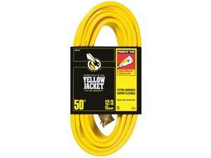 Coleman Cable 02884 50' 12/3 Yellow Jacket® Extension Cord