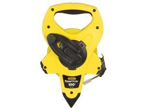 Stanley Hand Tools 34-760 100' PowerWinder™ Open Reel Long Measure Tape