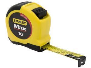 Stanley Hand Tools 33-692 16' MaxSteel™ Contractor Grade Tape Measure