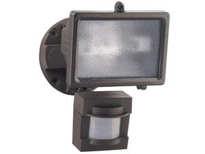 Heathco Bronze 1 Bulb 150 Watt Bronze Halogen Motion Flood Light