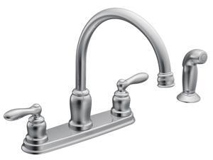 MOEN CA87888 Caldwell Two Handle High Arc Kitchen Faucet - Chrome