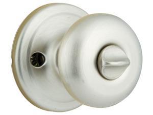 Kwikset Signature Series 97300-699 Satin Nickel Juno™ Bed & Bath Privacy Knob