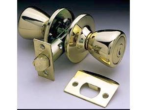Ultra Hardware 44045 Polished Brass The Rittenhouse Bed & Bath Lockset