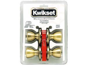 Kwikset 92430-022 Entry Locksets Tylo Knob 2 Pack