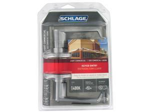 Schlage F51CSVELA626 Light Commercial Keyed Entry Lever