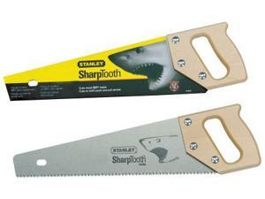 "Stanley Hand Tools 15-335 20"" 9 TPI SharpTooth™ Hand Saw"