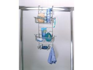 Zenith 7803SS Bathstyles™ Over the Shower Door Caddy