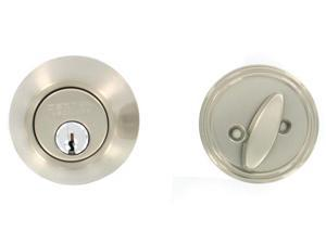Dexter JD60V619 Satin Nickel Single Cylinder Deadbolts