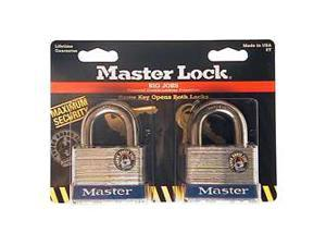 "Master Lock 5T 2 Per Pack 2"" No. 5 Laminated Padlock"