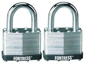 "Fortress 1805T 2 Count 2"" Laminated Steel Padlock"