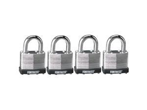 Fortress 1803Q 4 Count #1803 Laminated Steel Padlocks