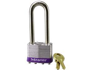 Master Lock 1DLJ Laminated No. 1 Long Shackle Padlock