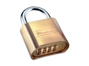 "Master Lock 175D 2"" Resettable Brass Combination Padlock"