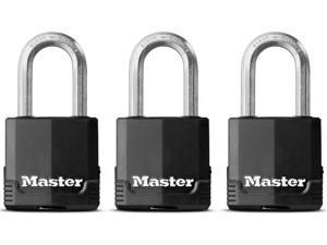 """Master Lock M115XTRILFHC 3 Count 1-1/2"""" Magnum® Padlock"""